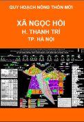 Quy hoạch xây dựng nông thôn mới xã Ngọc Hồi-H.Thanh Trì-TP.Hà Nội