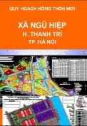 Quy hoạch xây dựng nông thôn mới xã Ngũ Hiệp-H.Thanh Trì-TP.Hà Nội