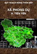 Quy hoạch xây dựng nông thôn mới xã Phong Dụ-H.Tiên Yên-T. Quảng Ninh
