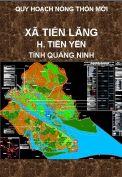 Quy hoạch xây dựng nông thôn mới xã Tiên Lãng-H.Tiên Yên-T. Quảng Ninh