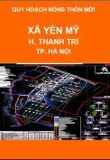 Quy hoạch xây dựng nông thôn mới xã Yên Mỹ-H.Thanh Trì-TP.Hà Nội