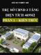 Hồ sơ thiết kế Trụ sở ủy ban nhân dân xã 3 tầng, Diện tích 469m2 – Phần 1: Kiến trúc
