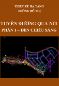 Thiết kế hạ tầng đường đô thị - Tuyến đường qua núi – Phần 1: Đèn chiếu sáng
