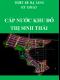 Thiết kế hạ tầng kỹ thuật – Cấp nước khu đô thị sinh thái