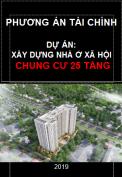 Phương án tài chính dự án nhà ở xã hội chung cư 25 tầng