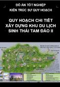 Quy hoạch chi tiết xây dựng khu du lịch sinh thái Tam Đảo II- tỉnh Vĩnh Phúc
