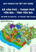 Quy hoạch chi tiết xây dựng xã Văn Phú – thành phố Yên Bái- tỉnh Yên Bái
