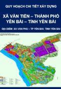 Quy hoạch chi tiết xây dựng xã Văn Tiến – thành phố Yên Bái- tỉnh Yên Bái