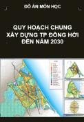 Quy hoạch chung xây dựng thành phố Đồng Hới đến năm 2030