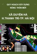 Quy hoạch xây dựng nông thôn mới xã Duyên Hà, huyện Thanh Trì, Thành phố Hà Nội đến năm 2020