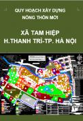 Quy hoạch xây dựng nông thôn mới xã Tam Hiệp đến năm 2020 trên cơ sở điều chỉnh cục bộ quy hoạch xây dựng điểm dân cư nông thôn xã Tam Hiệp , huyện Thanh Trì, Thành phố Hà Nội