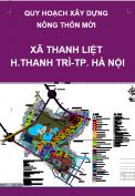 Quy hoạch xây dựng nông thôn mới xã Thanh Liệt đến năm 2020 trên cơ sở điều chỉnh cục bộ quy hoạch xây dựng điểm dân cư nông thôn xã Thanh Liệt , huyện Thanh Trì, Thành phố Hà Nội