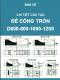 Bản vẽ chi tiết cấu tạo đế cống tròn D600,D800,D1000, D1200