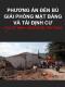 Lập phương án đền bù giải phóng mặt bằng và tái định cư cho các dự án xây dựng