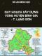 Quy hoạch vùng huyện Bình Gia- tỉnh Lạng Sơn