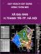 Quy hoạch xây dựng nông thôn mới xã Đại Áng đến năm 2020 trên cơ sở điều chỉnh cục bộ quy hoạch xây dựng điểm dân cư nông thôn xã Đại Áng , huyện Thanh Trì, Thành phố Hà Nội