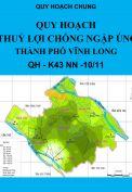 Quy hoạch Thủy lợi chống ngập úng Thành phố Vĩnh Long – năm 2011, tập 1