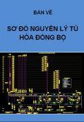 Hồ sơ mẫu bản vẽ thiết kế sơ đồ nguyên lý tủ hòa đồng bộ 800KVA