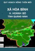Quy hoạch xây dựng nông thôn mới xã Hòa Bình  – huyện Hoành Bồ – tỉnh Quảng Ninh