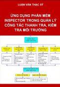 Ứng dụng phần mềm Inspector trong quản lý công tác thanh tra, kiểm tra môi trường quận Bình Tân