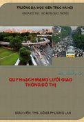 Bài giảng Quy hoạch giao thông đô thị