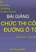 Bài giảng tổ chức thi công- Nguyễn Biên Cương