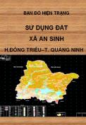 Bản đồ hiện trạng sử dụng đất xã An Sinh – H. Đông Triều – T.Quảng Ninh