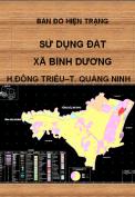 Bản đồ hiện trạng sử dụng đất xã Bình Dương  – H. Đông Triều – T.Quảng Ninh