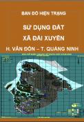 Bản đồ hiện trạng sử dụng đất xã Đài Xuyên - H. Vân Đồn – T. Quảng Ninh