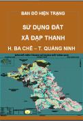Bản đồ hiện trạng sử dụng đất xã Đạp Thanh– H. Ba Chẽ – T. Quảng Ninh