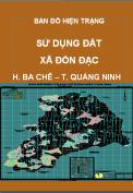 Bản đồ hiện trạng sử dụng đất xã Đồn Đạc– H. Ba Chẽ – T. Quảng Ninh