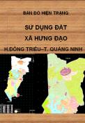 Bản đồ hiện trạng sử dụng đất xã Hưng Đạo – H. Đông Triều – T.Quảng Ninh