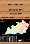 Bản đồ hiện trạng sử dụng đất xã Kim Sơn – H. Đông Triều – T.Quảng Ninh