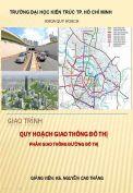 Giáo trình quy hoạch giao thông đô thị