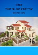 Thiết kế điển hình nhà ở - loại biệt thự