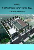 Thiết kế trạm xử lý nước thải công suất 1000m3/ngđ