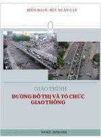 Đường đô thị và tổ chức giao thông