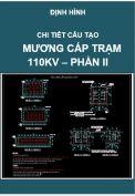 Chi tiết cấu tạo mương cáp Trạm điện 110kV– Phần II