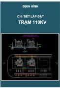 Chi tiết lắp đặt Trạm điện 110kV