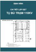 Chi tiết lắp đặt tụ bù Trạm điện 110kV
