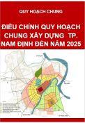 Điều chỉnh Quy hoạch chung xây dựng Thành phố Nam Định đến năm 2025
