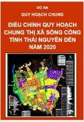 Điều chỉnh quy hoạch chung xây dựng Thị xã Sông Công – tỉnh Thái Nguyên