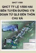 Quy hoạch chi tiết hai bên tuyến đường 179, đoạn từ Quốc lộ 5 đến thôn Chu Xá, xã Kiêu Kỵ, tỉnh Hưng Yên, tỷ lệ 1/500