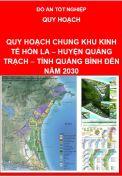 Quy hoạch chung Khu Kinh tế Hòn La – Huyện Quảng Trạch – Tỉnh Quảng Bình