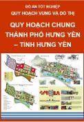 Quy hoạch chung Thành phố Hưng Yên – Tỉnh Hưng Yên