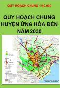 Quy hoạch chung xây dựng huyện Ứng Hòa – TP. Hà Nội đến năm 2030 tỷ lệ 1/10.000