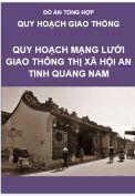 Quy hoạch Mạng lưới Giao thông Thị xã Hội An- Tỉnh Quảng Nam