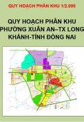 Quy hoạch phân khu Phường Xuân An, thị xã Long Khánh, tỉnh Đồng Nai, tỷ lệ 1/2.000
