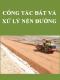 Quy trình Công tác đất và xử lý nền đường