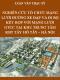 Luận văn thạc sỹ kỹ thuật cơ sở hạ tầng – Nghiên cứu tổ chức mạng lưới đường xe đạp và đi bộ kết hợp với mạng lưới giao thông công cộng tại khu vực trung tâm khu đô thị Tây Hồ Tây –